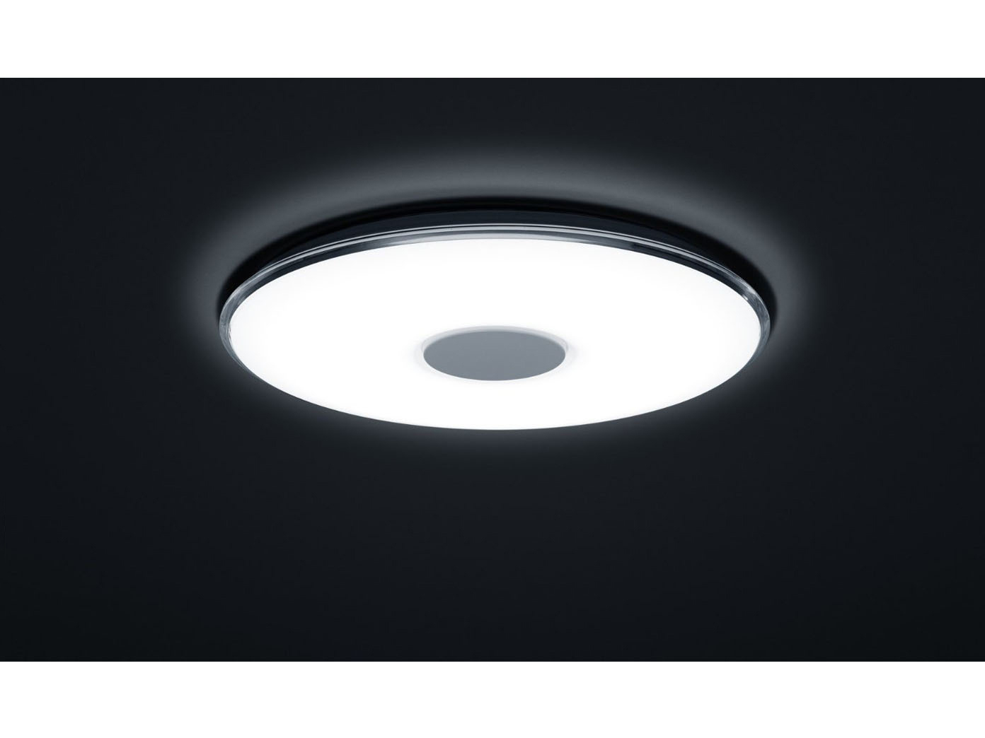 led deckenleuchte 60cm lichtfarbe einstellbar dimmbar. Black Bedroom Furniture Sets. Home Design Ideas