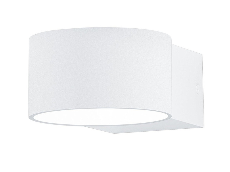 LED Wandleuchte LACAPO mit Up- & Down Lichteffekt, weiß matt, Osram LED