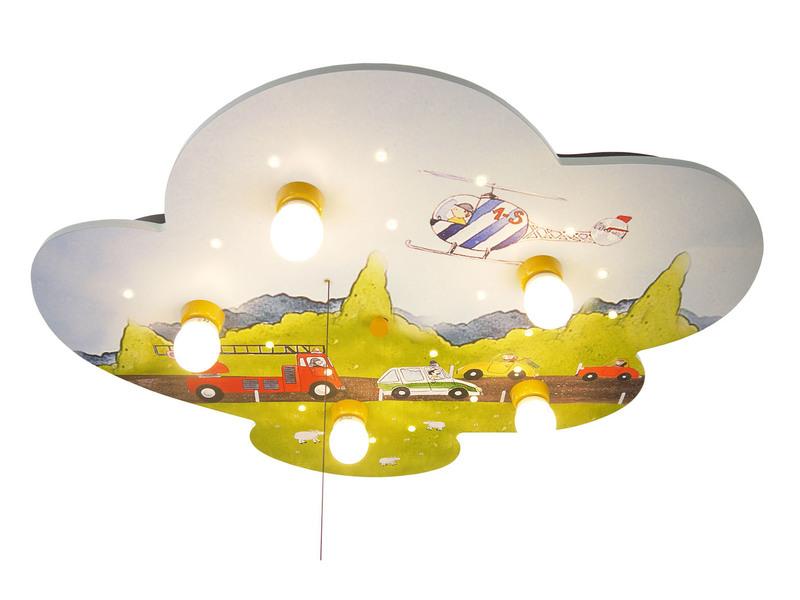 LED Kinder Deckenleuchte mit Autos Amazon Echo kompatibel - setpoint.de