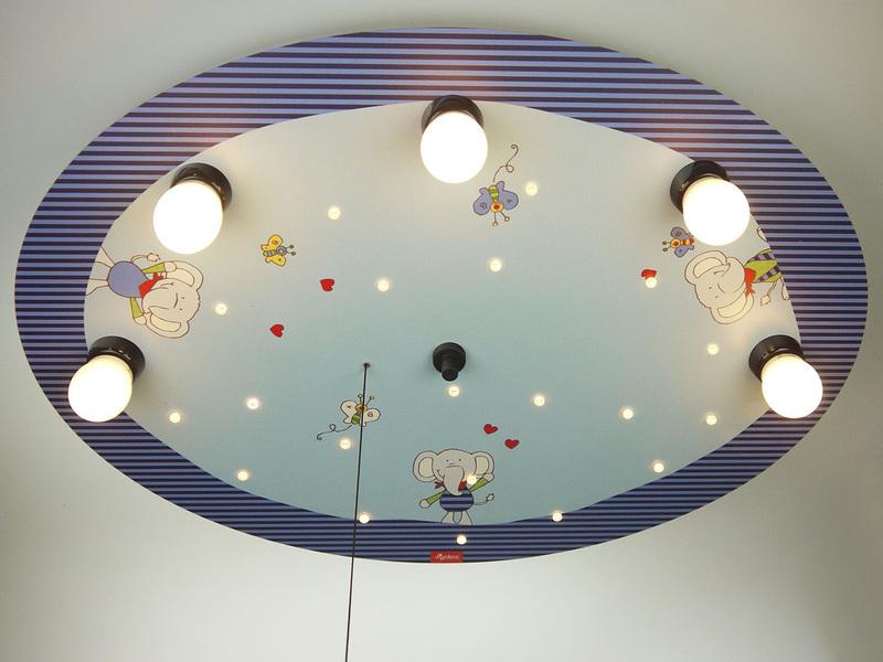 LED Kinder Deckenlampe Elefanten Amazon Echo kompatibel - setpoint.de