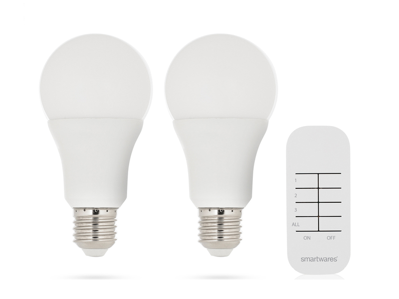 2 Stk. E27 LED Leuchtmittel Mit Fernbedienung, LED 7 Watt, Universell  Einsetzbar
