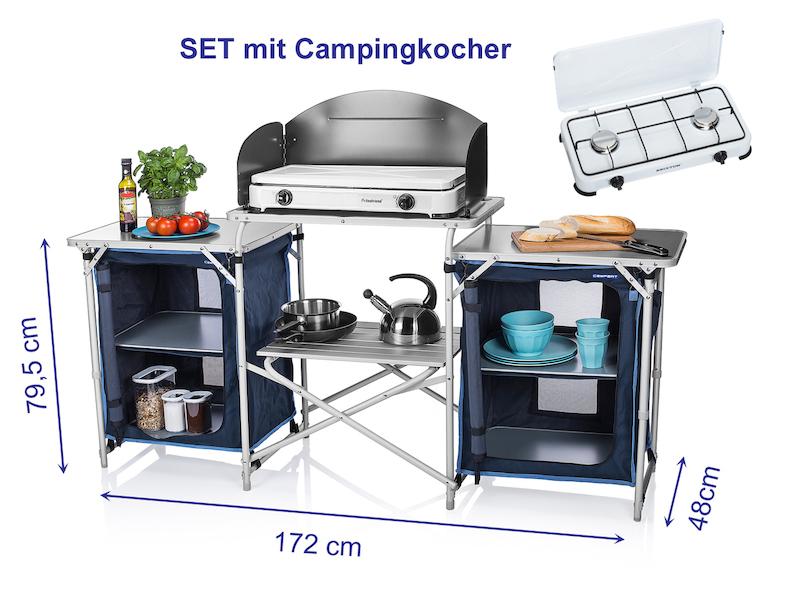 Outdoorküche Garten Xxl : Xxl campingküche mit gaskocher kaufen setpoint
