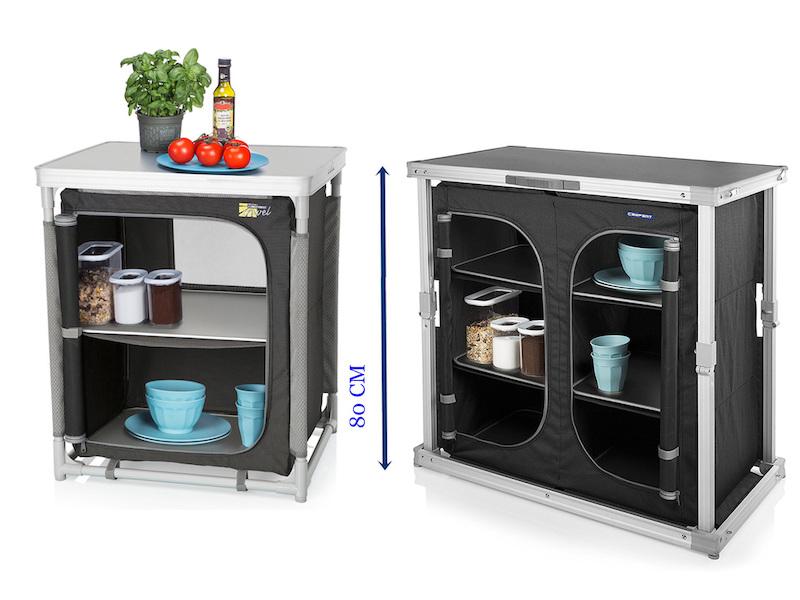 Outdoorküche Klappbar Vergleich : Luxuriöse outdoor küche campingschrank mit viel stauraum setpoint.de
