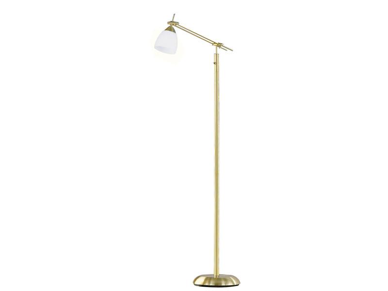 trio leuchten stehlampe messing matt. Black Bedroom Furniture Sets. Home Design Ideas