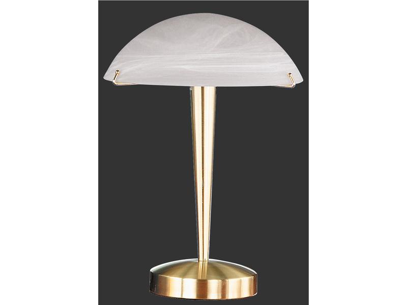trio leuchten tischlampe messing. Black Bedroom Furniture Sets. Home Design Ideas