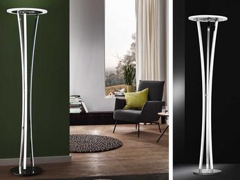 led stehleuchte seattle wofi leuchten. Black Bedroom Furniture Sets. Home Design Ideas