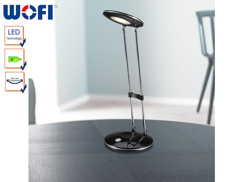 led schreibtischleuchte caja wofi leuchten. Black Bedroom Furniture Sets. Home Design Ideas