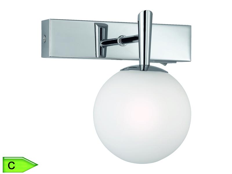 Badezimmer Spot, 1 X 28W/G9, Höhe 16cm, Schalter, Chrom