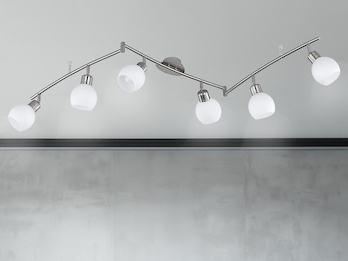 trio leuchten deckenschiene deckenstrahler. Black Bedroom Furniture Sets. Home Design Ideas