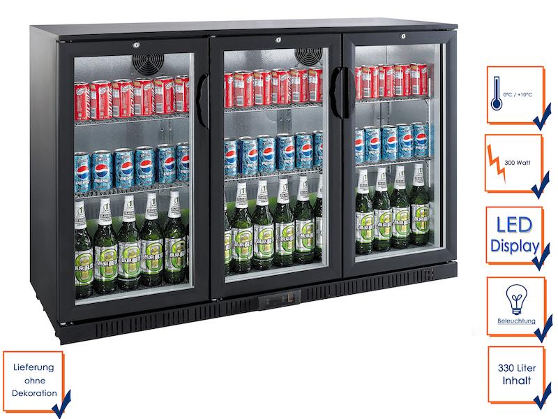 Profi Getränkekühlschrank GGG LG-330H, 330 Liter - setpoint.de