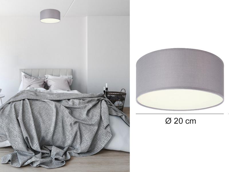 ceiling dream grau 20cm. Black Bedroom Furniture Sets. Home Design Ideas