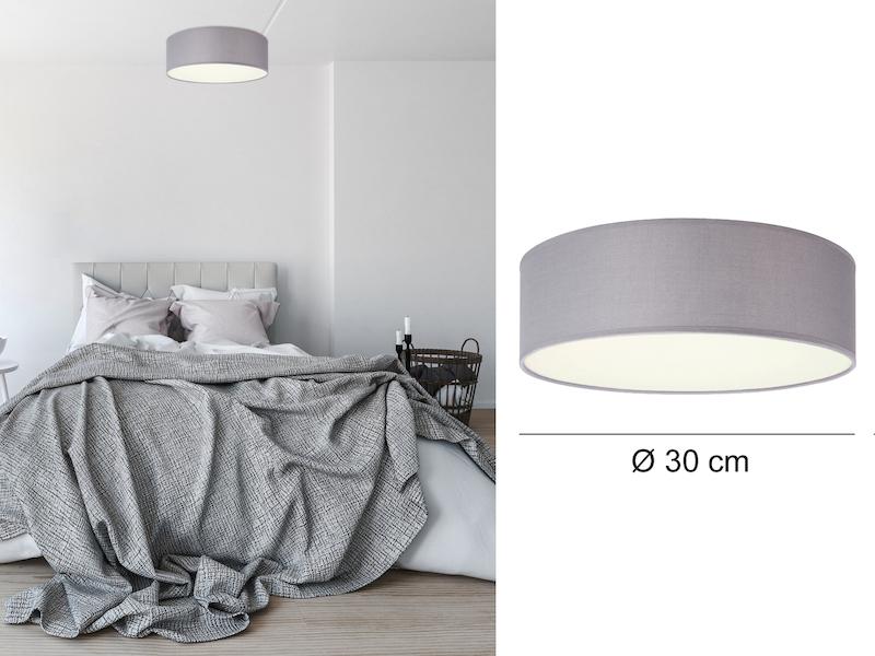ceiling dream grau 30cm. Black Bedroom Furniture Sets. Home Design Ideas