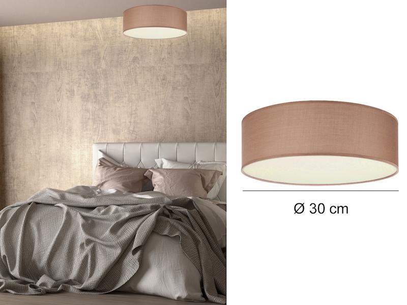 ceiling dream braun 30cm. Black Bedroom Furniture Sets. Home Design Ideas