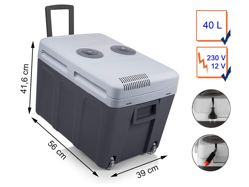 tristar k hlbox 40 liter thermoelektrisch. Black Bedroom Furniture Sets. Home Design Ideas