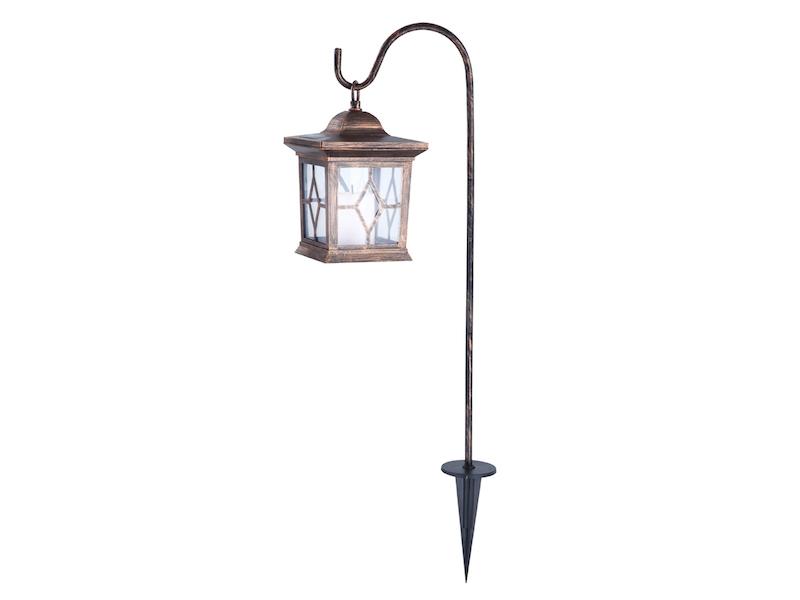 Dekorative LED Solarleuchte Im Antik Look   Laterne Für Den Garten