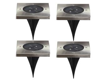 Bodeneinbaustrahler solar led - Wandbeleuchtung solar ...