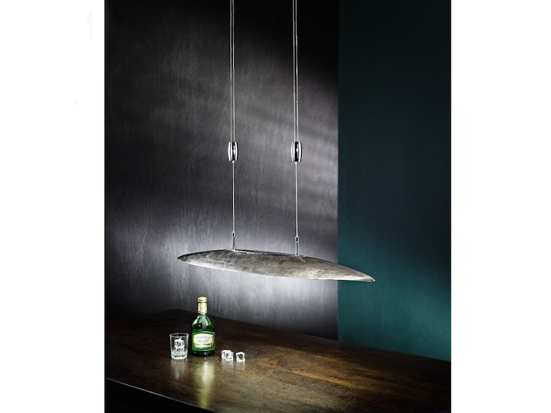 led pendelleuchte shine alu fischer leuchten. Black Bedroom Furniture Sets. Home Design Ideas