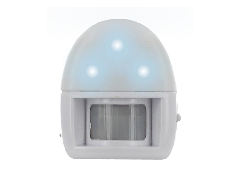 elro nachtlampe nachtlicht mit bewegungsmelder batteriebetrieben. Black Bedroom Furniture Sets. Home Design Ideas