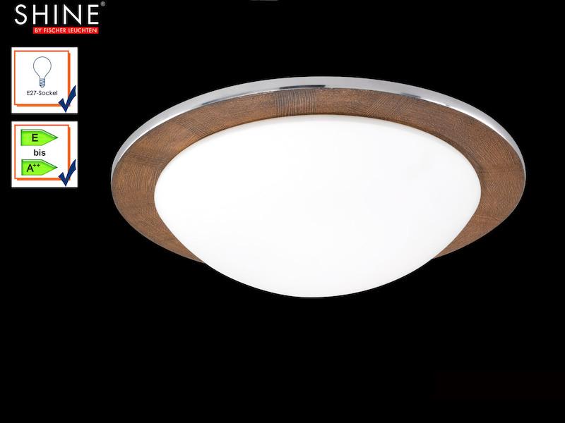 Deckenleuchte Shine Alu Fischer Leuchten Setpoint De