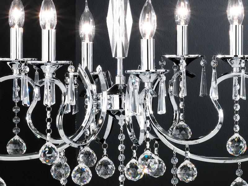 Kronleuchter Mit Glasbehang ~ Kronleuchter diamant honsel leuchten setpoint