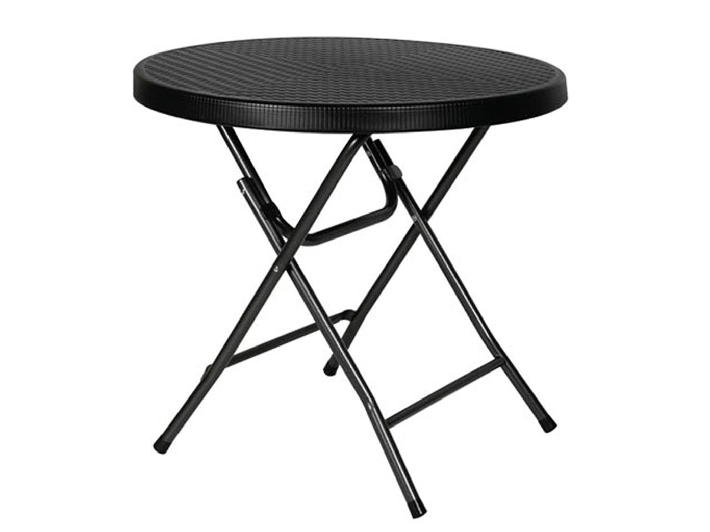 sitzgarnitur schwarz kunststoff stahl klappbar wetterfest gartengarnitur eur 128 99. Black Bedroom Furniture Sets. Home Design Ideas
