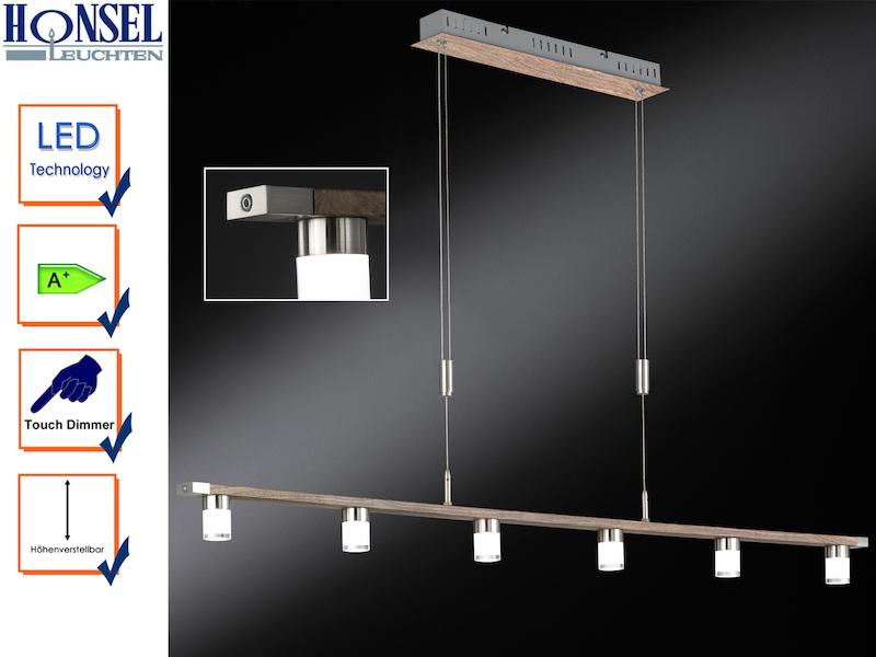 led h ngeleuchte forest dimmbar h henverstellbar. Black Bedroom Furniture Sets. Home Design Ideas