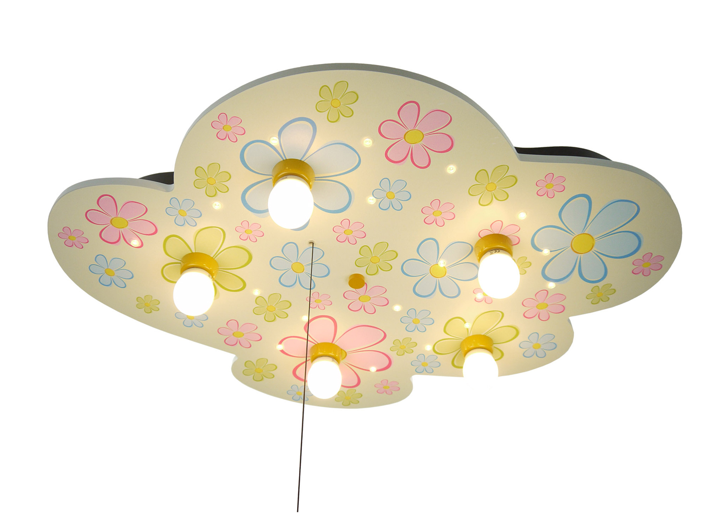 Deckenlampe Mit Zugschalter ~ Kinder deckenleuchte wolkenlampe mit zugschalter für led