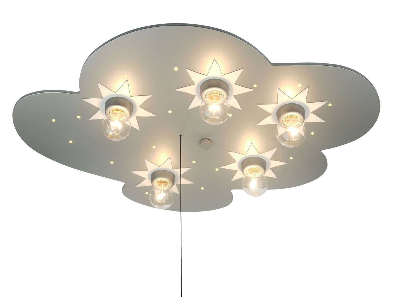 Led Lampe Kinderzimmer Led Sternenhimmel Schlummerlicht Wolkenlampe