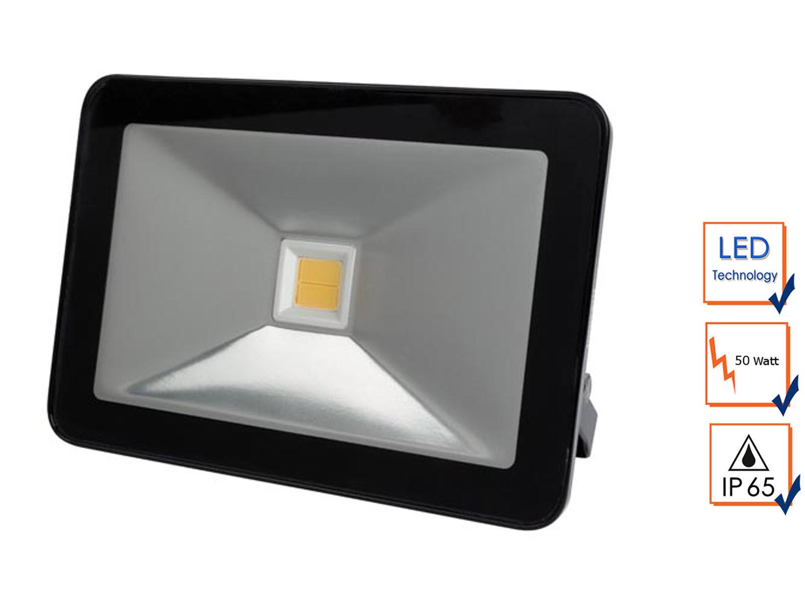 led arbeitslampe flutlicht 50w warmwei scheinwerfer fluter baustrahler ip65 5410329665562 ebay. Black Bedroom Furniture Sets. Home Design Ideas