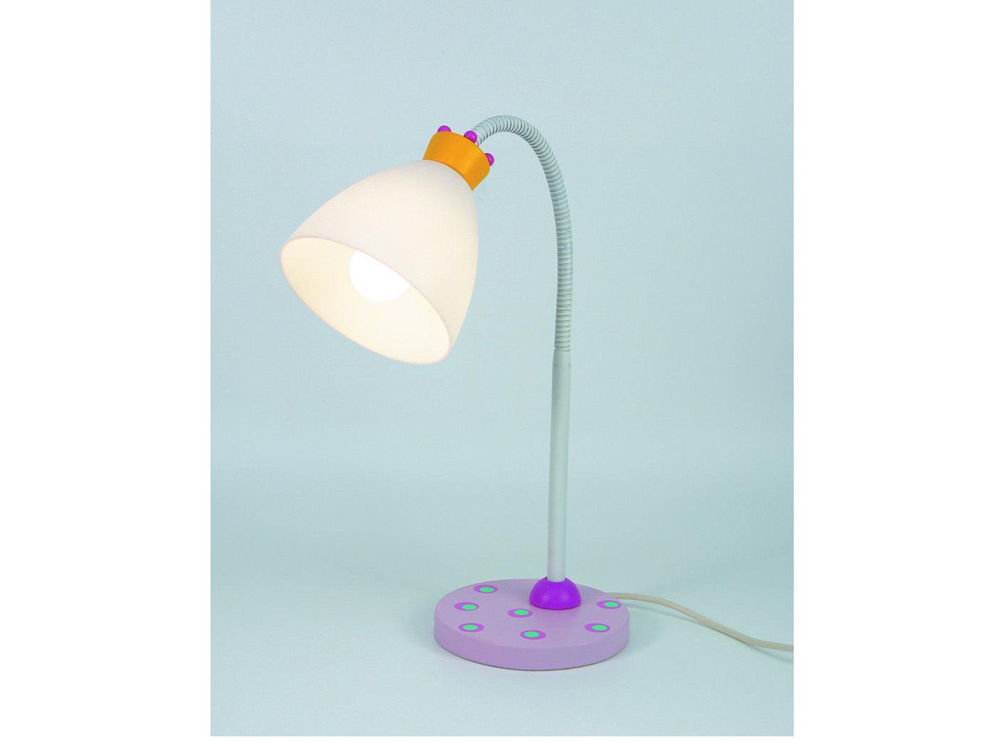 LED-lampara-de-lectura-flexrohr-coronitas-rosa-blanco-escritorio-LED-lampara-lampara-para-ninos
