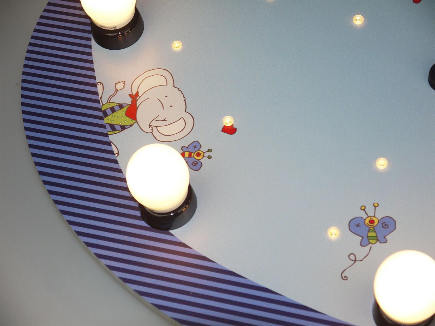 Deckenlampe Mit Zugschalter ~ Led deckenleuchte rund zugschalter led schlummerlicht alexa