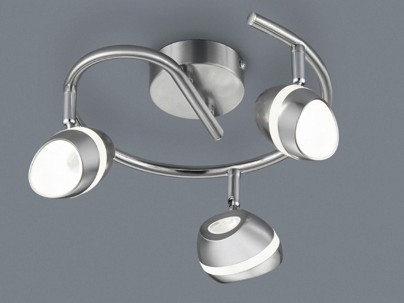 2er set led deckenstrahler rondell shark spots schwenkbar retro deckenlampe ebay. Black Bedroom Furniture Sets. Home Design Ideas