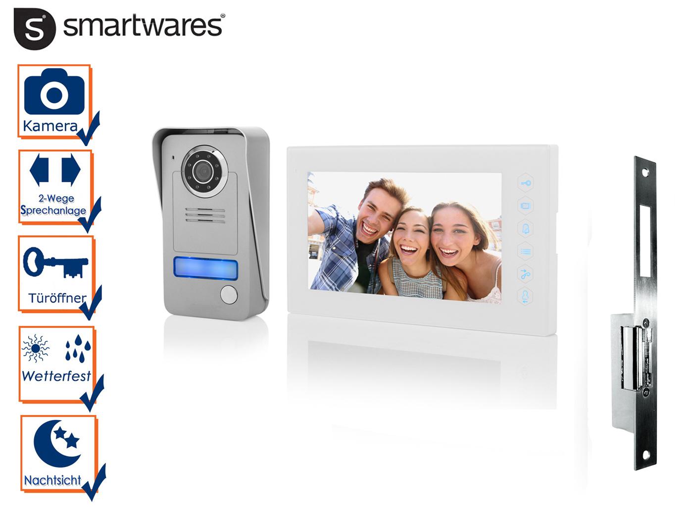 video gegensprechanlage klingel einfamilienhaus + türöffner
