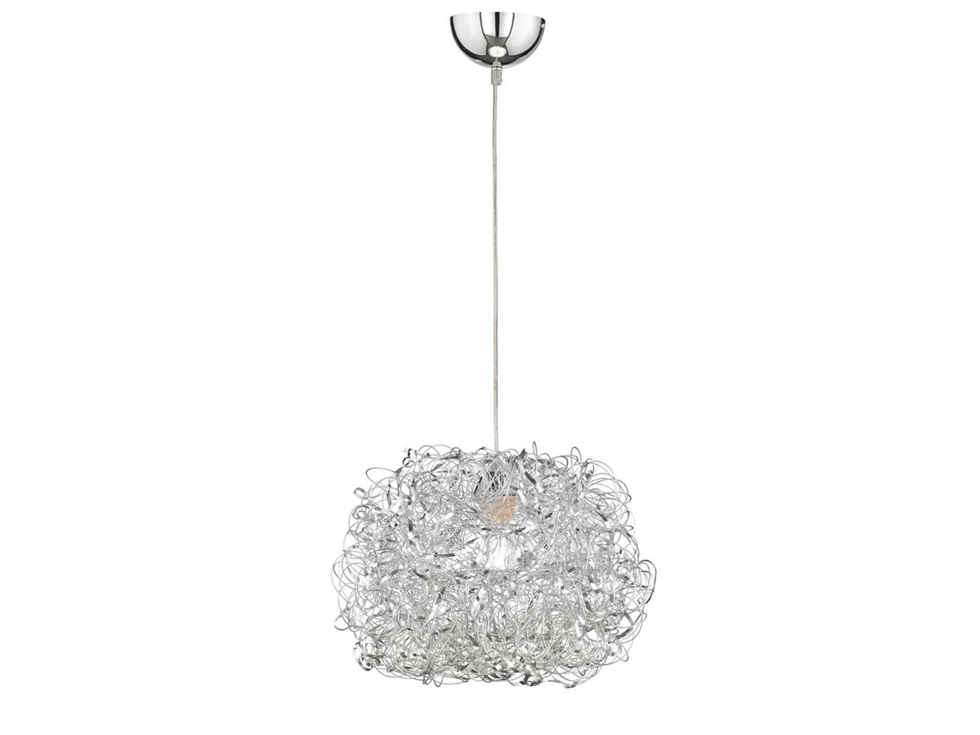 ... Haengeleuchte Silber 40cm E27 Esstisch Lampe Pendelleuchte Wohnzimmer