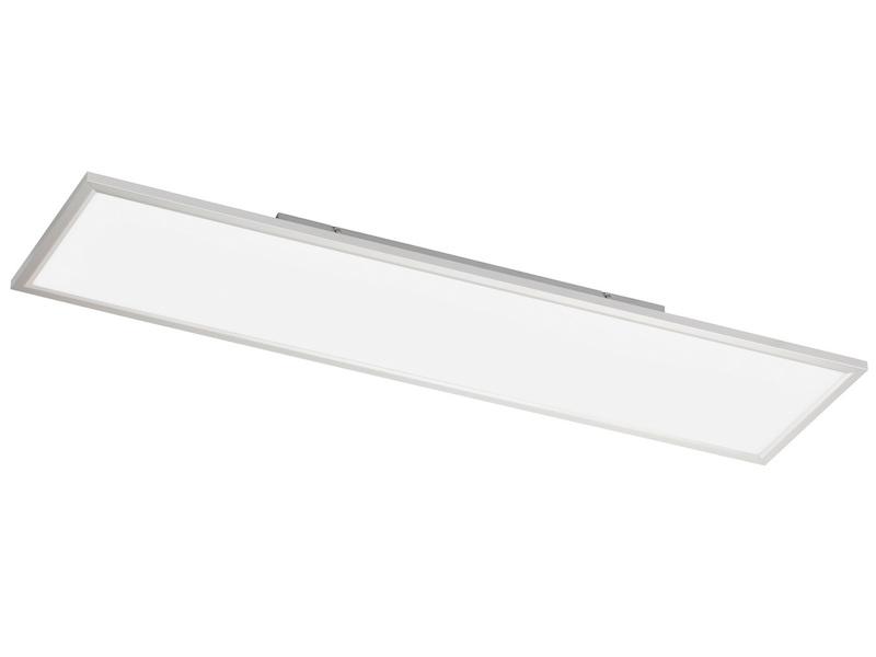 Flache led deckenleuchte 30x120 cm eckig ultraslim paneel deckenbeleuchtung b ro ebay - Led buro deckenleuchte ...