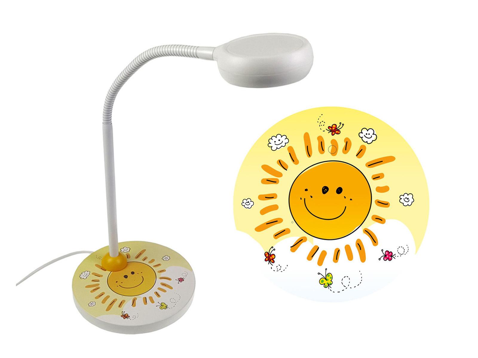 Nachttischleuchte Kinderzimmer flexibel Schreibtischlampe für ...