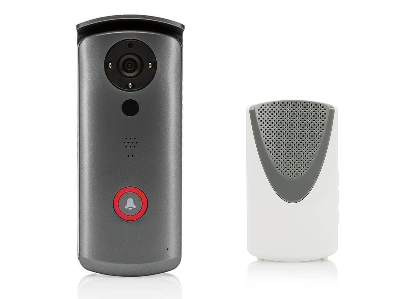 hausklingel mit kamera, türanlage app steuerung haustür sprechanlage