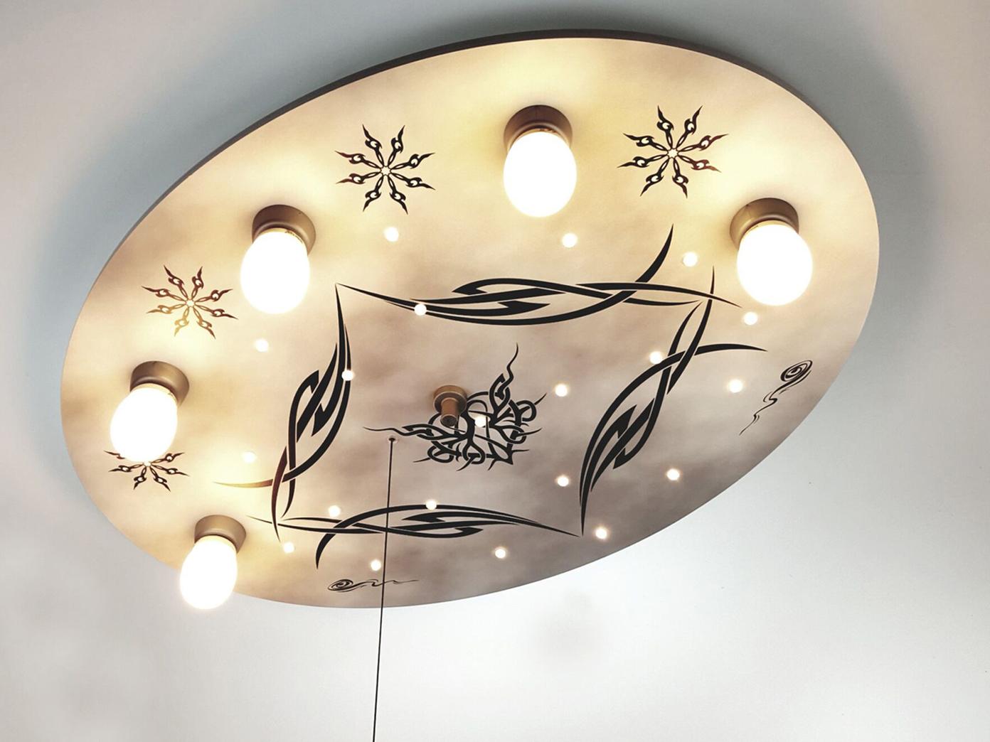 Deckenlampe Mit Zugschalter ~ Kinderzimmerlampe kinder deckenlampe gothic zugschalter für led