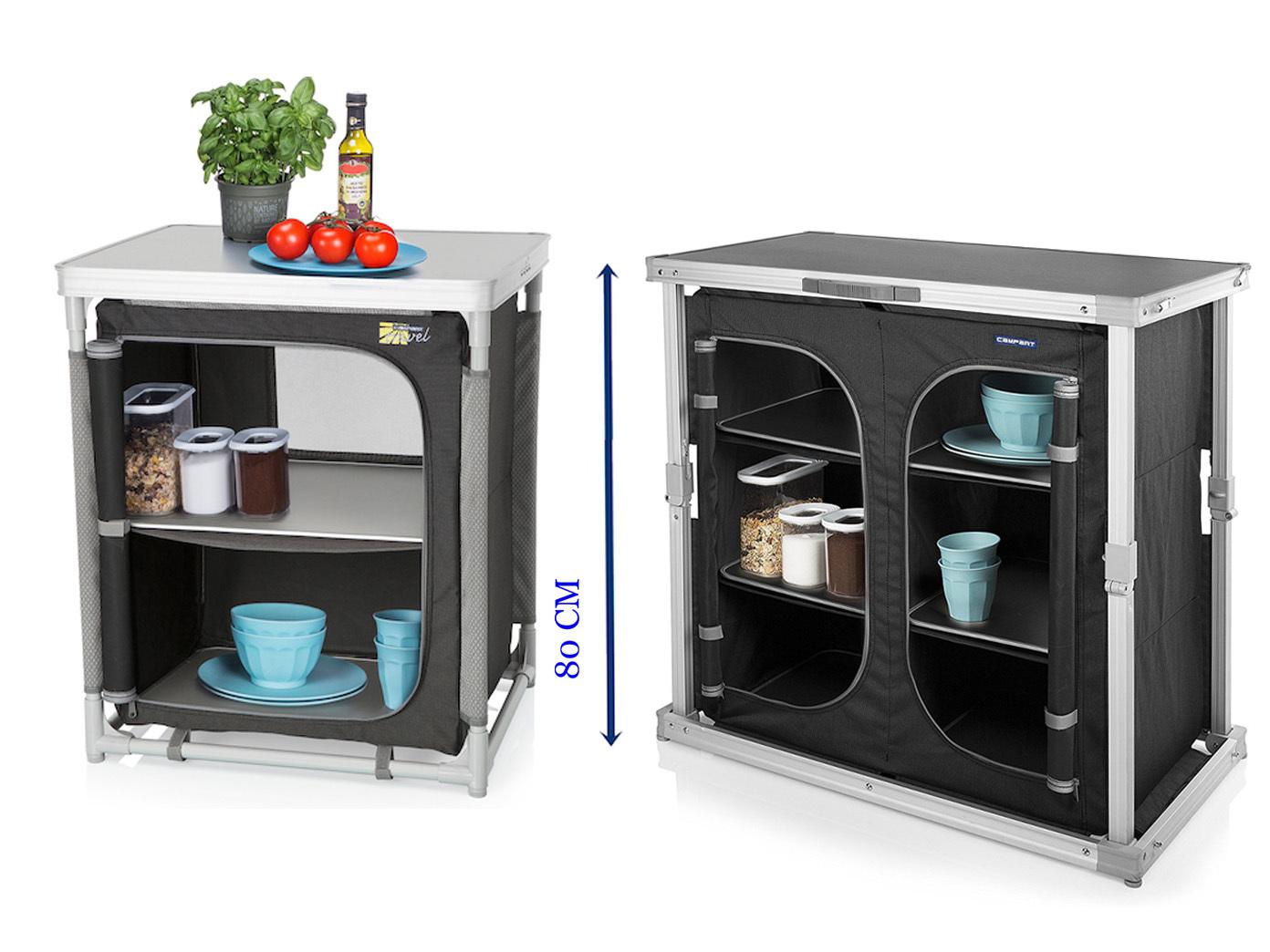 Outdoorküche Klappbar Preis : 2er set camping schrank faltschrank und stabile campingküche mit