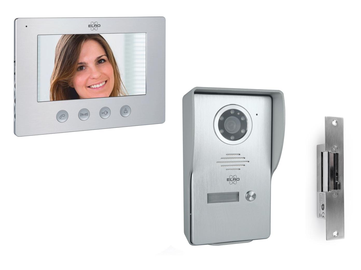 videotürsprechanlage mit monitor kamera türöffner, klingelanlage