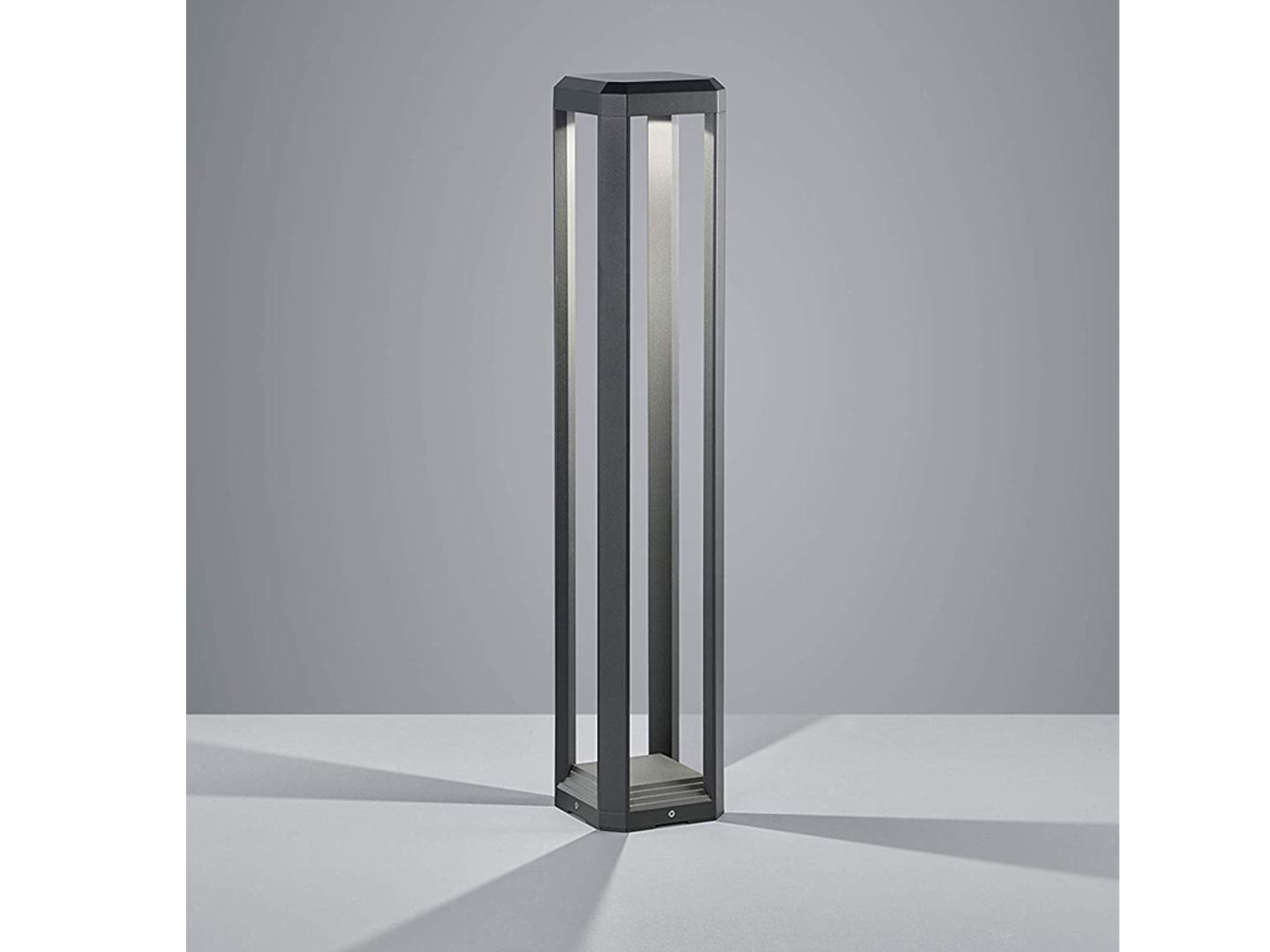 Klassische H80cm Anthrazit In Terrasse Garten Fur Stehlampe