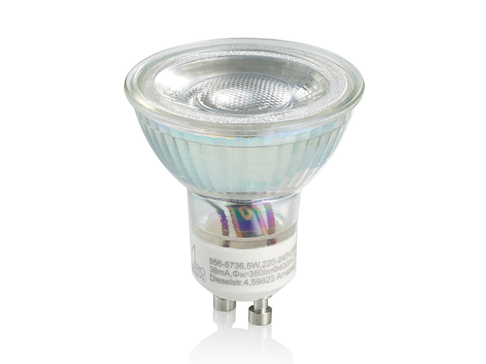 Gu led lampe w spot mit linse neutralweiß