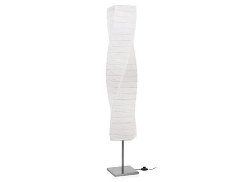 Ranex Stehlampe Twister Mit Lampenschirm Aus Papier Moderne