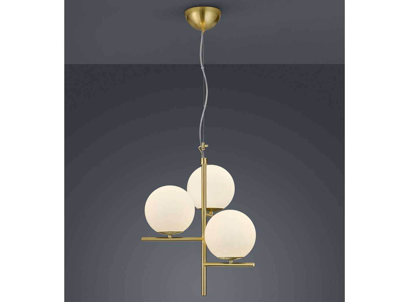 Indexbild 7 - Mehrflammige LED Hängelleuchten Kugel Lampenschirme aus Glas - fürs Wohnzimmer