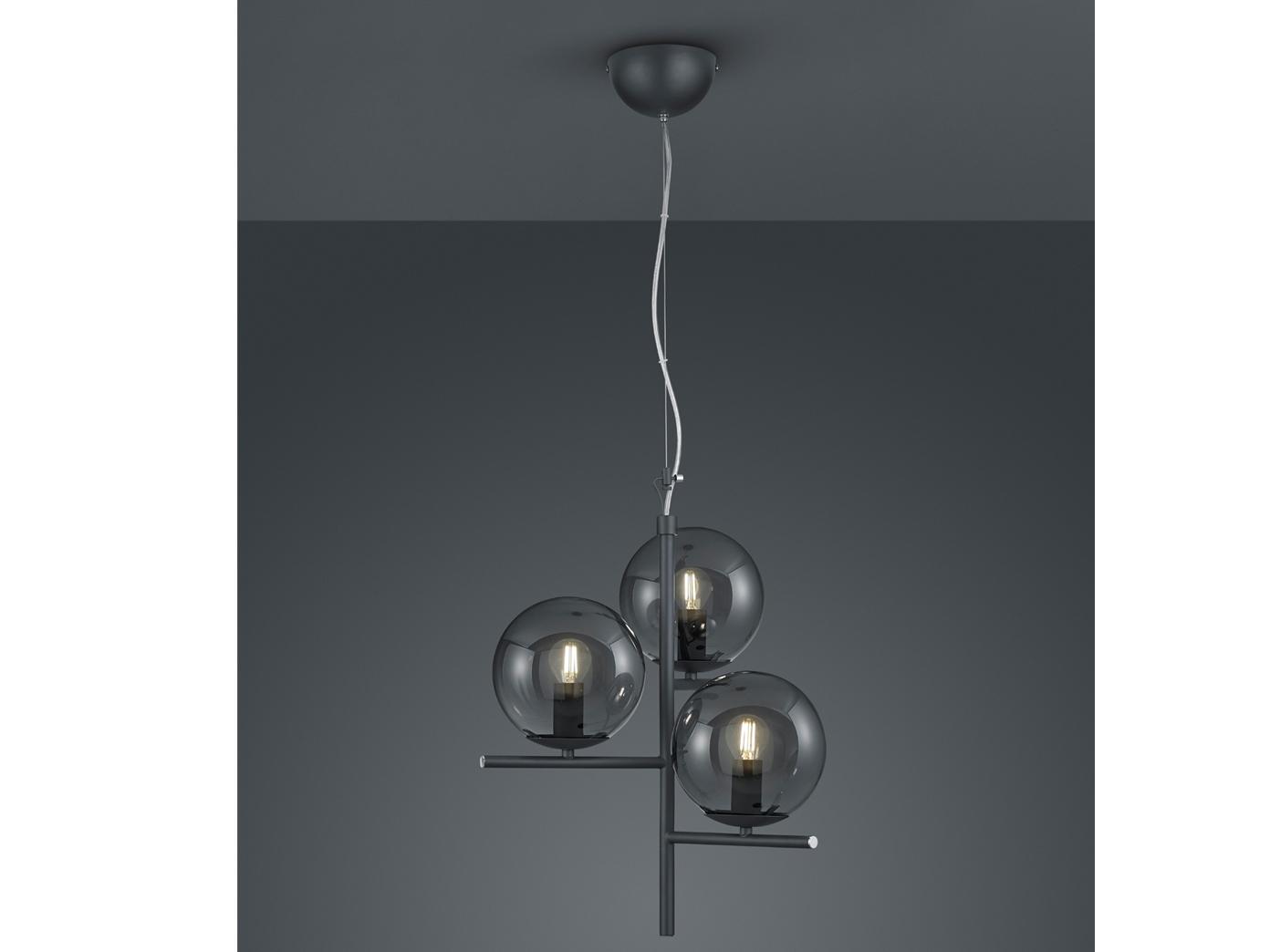 Indexbild 6 - Mehrflammige LED Hängelleuchten Kugel Lampenschirme aus Glas - fürs Wohnzimmer