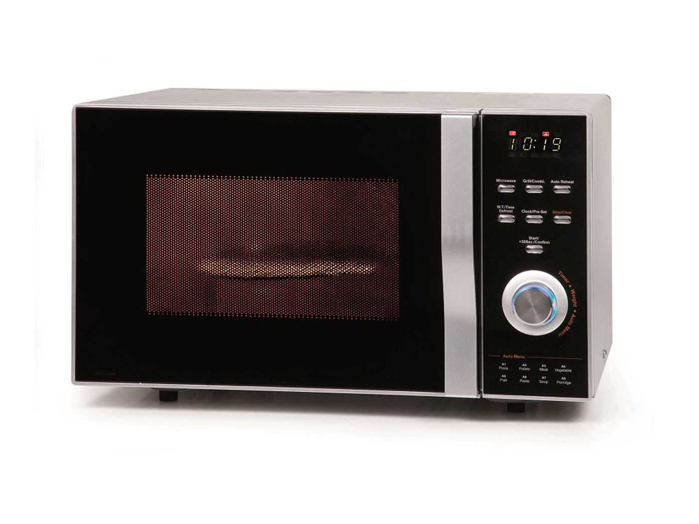 severin mw 7865 mikrowelle mit grill hei luft 800 watt microwelle 20 l ebay. Black Bedroom Furniture Sets. Home Design Ideas