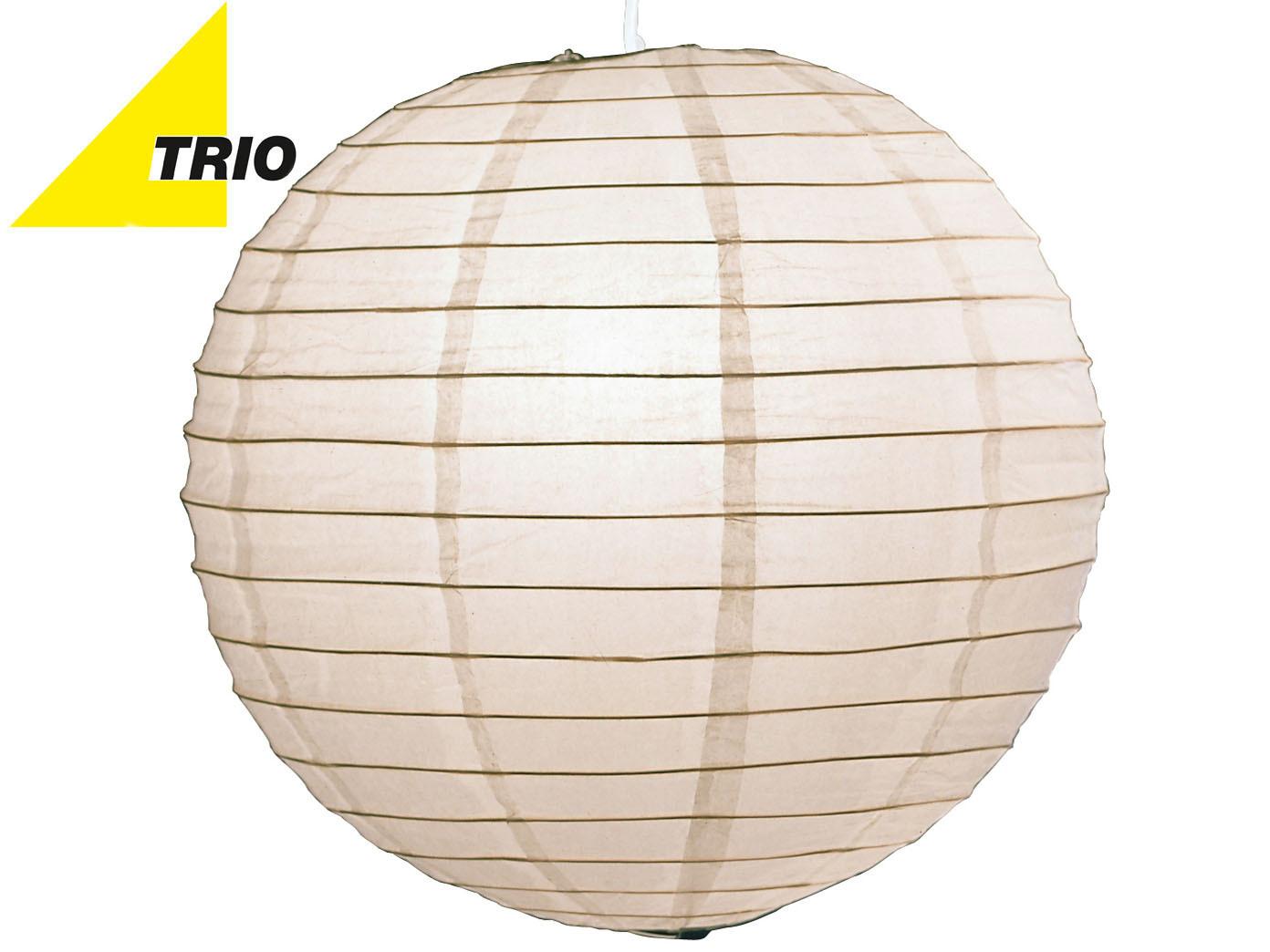 Trio Lampenschirm Japan-Kugel PAPER Papier weiß Ø 60cm ...