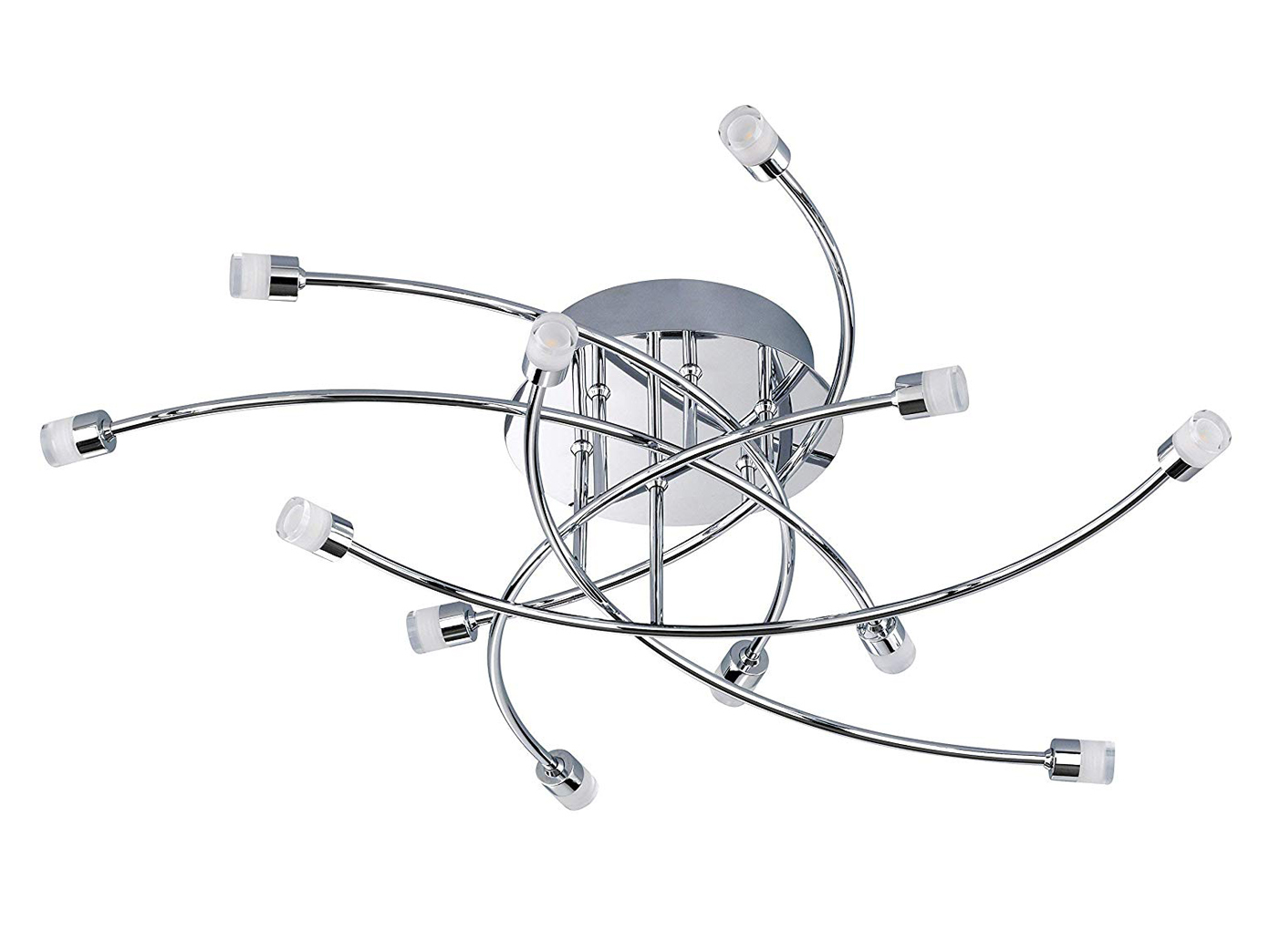led-deckenleuchte / deckenlampe star led, Ø 64 cm, honsel | ebay