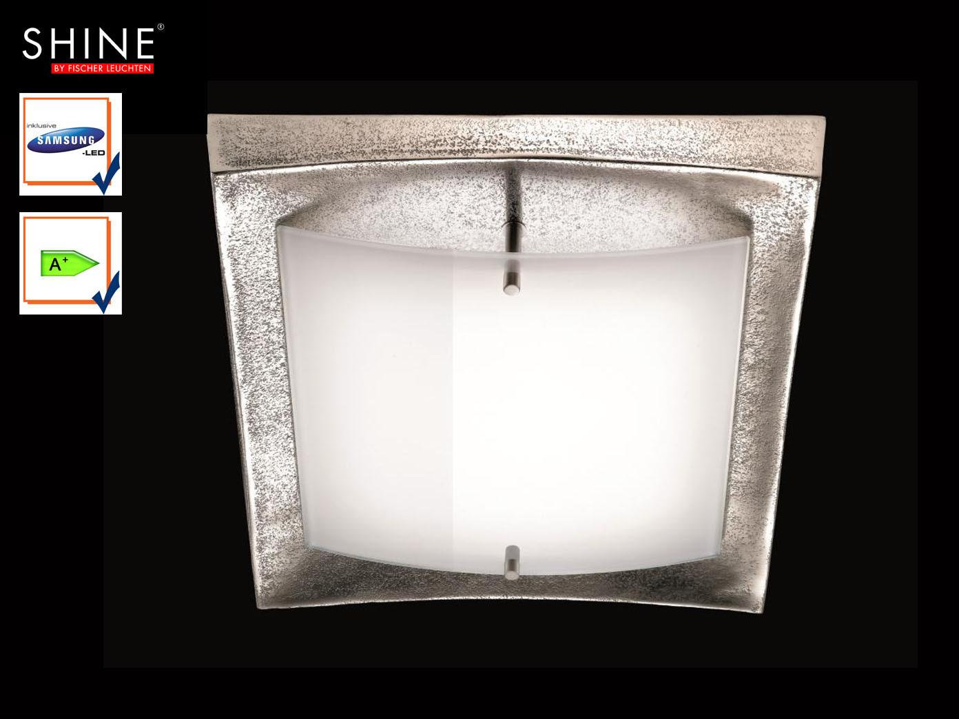 LED-Deckenlampe-Design-Nickel-antik-Opalglas-glaenzend-Fischer-Leuchten