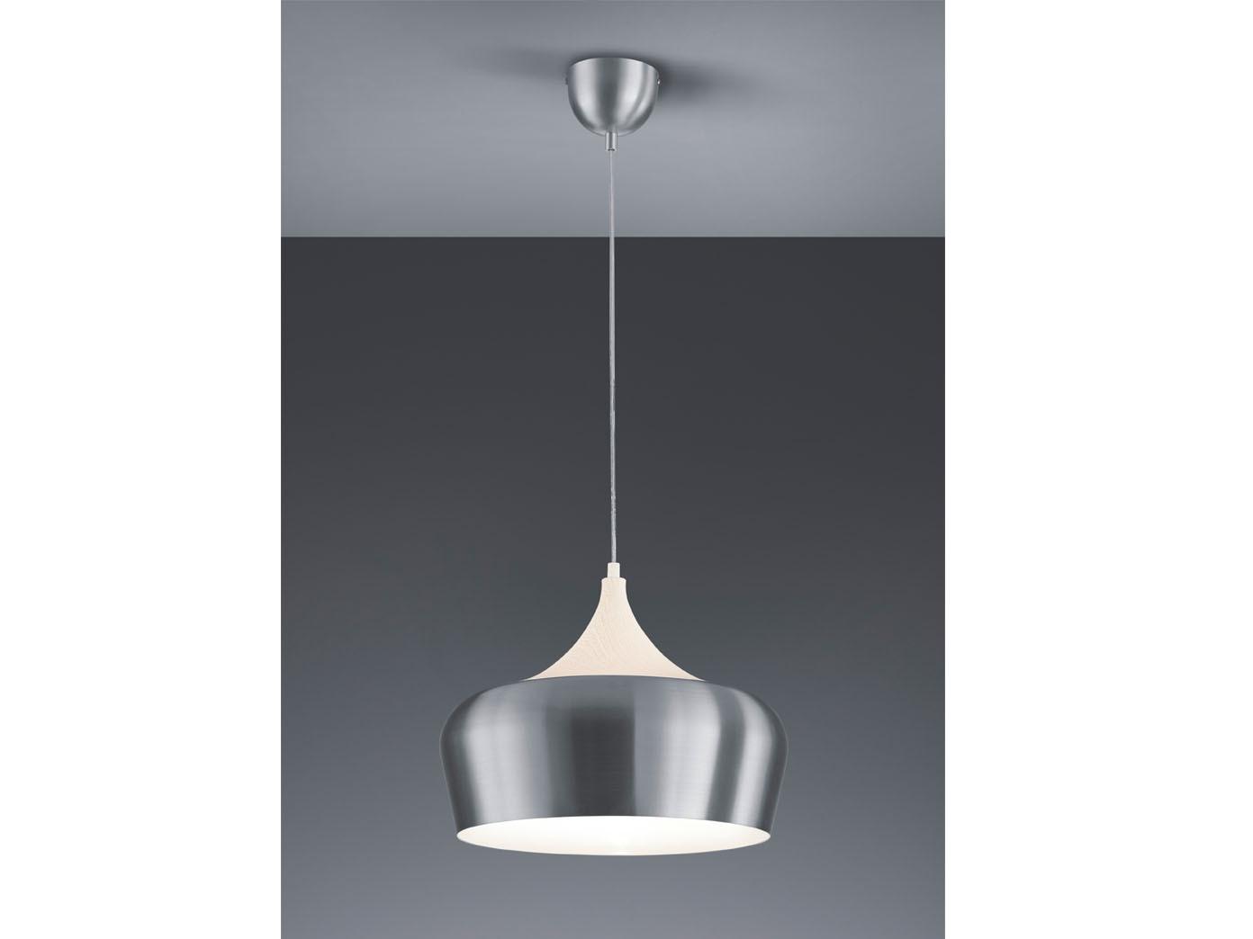 Geräumig Hängelampe Küche Galerie Von Trio-pendelleuchte-nabab-36cm-metall-aluminium-holz-haengelampe-